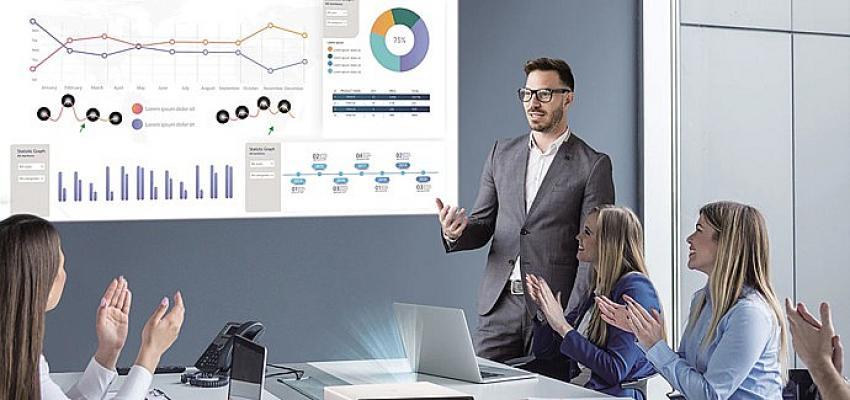 LG ProBeam Projeksiyonlar Tüm Sektörlere Destek Oluyor