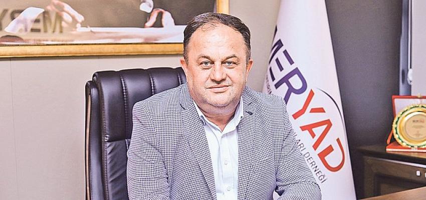 MERYAD Başkanı Coşkun Doğmuş yayınladığı mesajla Bayramı kutladı