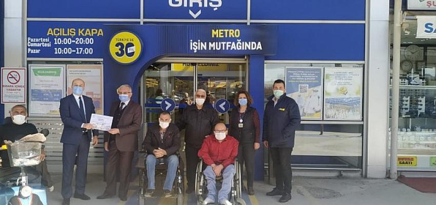 Metro Türkiye Konya Mağazası'nda engelsiz alışveriş deneyimi resmen tescillendi!