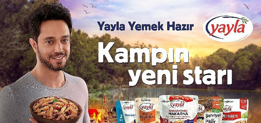 """Murat Boz'un tercihi kampta da değişmedi sağlık ve lezzet için """"Yemek Hazır"""" dedi"""