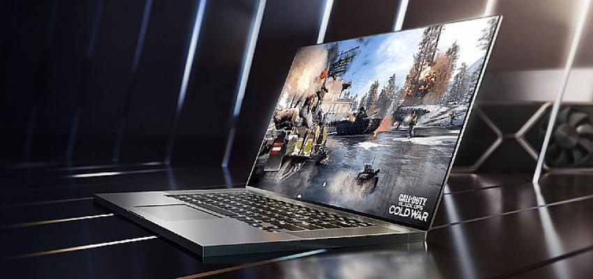 NVIDIA, GeForce RTX 30 Serisi ile Genel Amaçlı Dizüstü Bilgisayarları Oyun Güç Merkezlerine Dönüştürüyor
