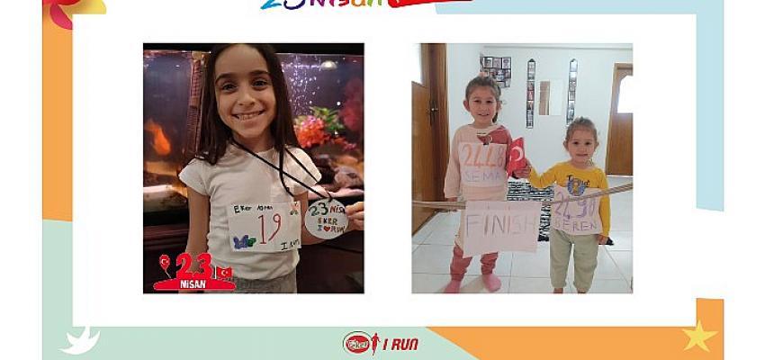 Sayılarla Eker I Run 23 Nisan Dijital Çocuk Koşusu