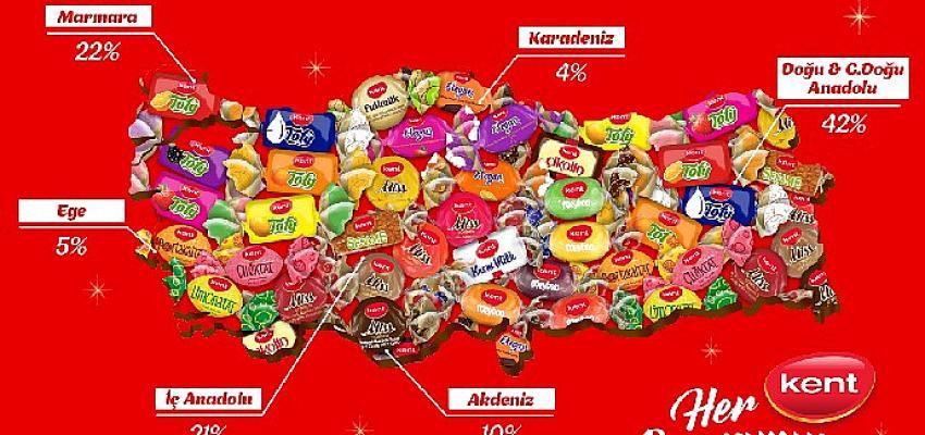 Türkiye'nin Bayram Şekeri Kent satış kanallarını genişletmeye devam ederek 11.000 ton bayram şekeriyle dört koldan evlere konuk oluyor