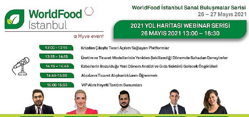 Worldfood Sanal Buluşmalar Serisi ile sektörü bir araya getiriyor