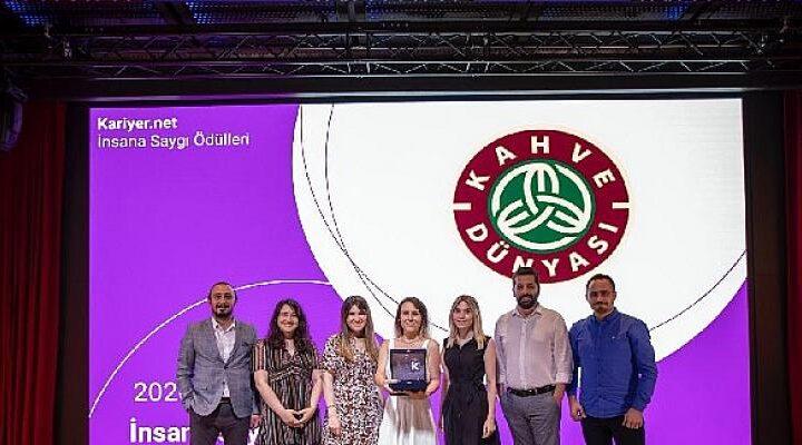 Kahve Dünyası İnsana Saygı Ödülü'ne Layık Görüldü