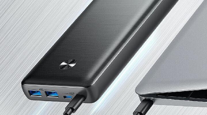 Laptop Şarj Edebilen Taşınabilir Şarj Cihazı Anker Powercore III Elite Türkiye'de!