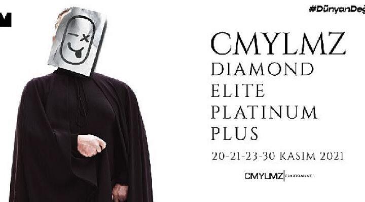 """Cem Yılmaz """"CMYLMZ – Diamond Elite Platinum Plus"""" ile Kasım'da Zorlu PSM'de!"""