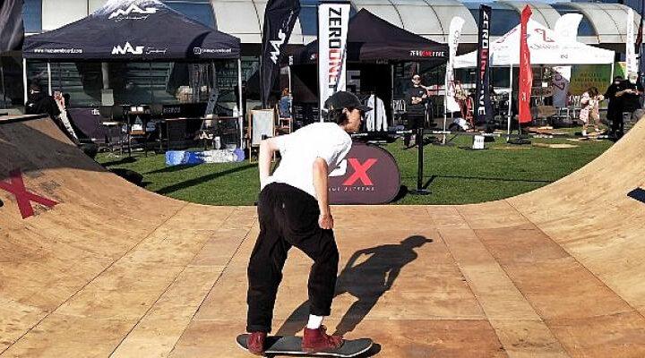 Kaykay tutkunları, SPX Skate Weekend'de buluştu