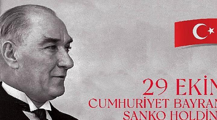 SANKO Holding, Cumhuriyetin ilanının 98. yılını düzenlediği özel etkinlikle kutlayacak.