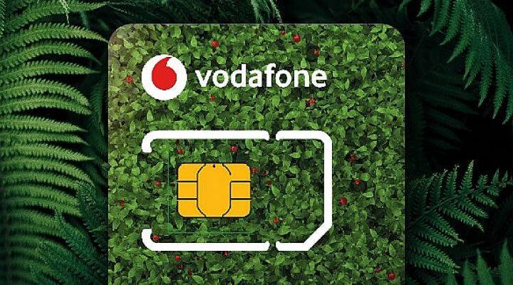 Vodafone, Eko-Sim Kartlarla Yüzlerce Ton Plastikten Tasarruf Sağlayacak
